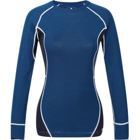 Regatta Beru Koszulka z długim rękawem Kobiety, blue opal/navy